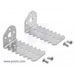 Aluminium fixtures for 25D motors