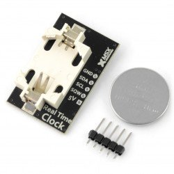 MSX RTC DS1307 I2C - real time clock + battery_