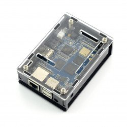 Banana Pi M3 Box Case - black-transparent