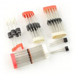 Set of rectifying diodes Velleman K/DIODE1 - 120pcs.