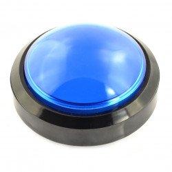 Big Push Button 10cm - blue (eco2 version)