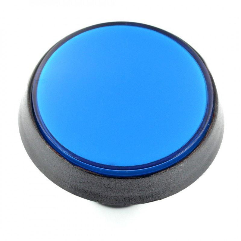 Push Button 6cm - blue (eco2 version)