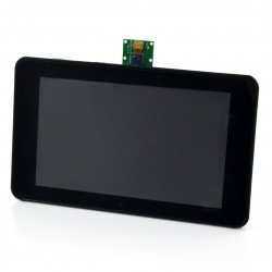 Case for Raspberry Pi , dedicated 7 '' screen and camera - Premium Case ASM-1900035-21 black*