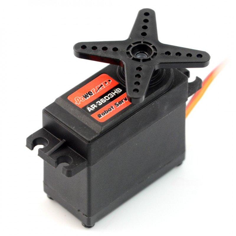Servo PowerHD AR-3603HB continuous work 360 degrees