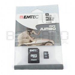 EMTEC micro SD/SDHC 8GB...