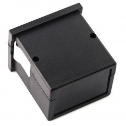 Plastic case Maszczyk KM-62+PG ABS - 72x72x55mm - black