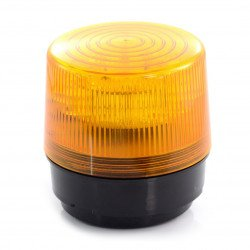 Signal LED 12V magnetic - orange