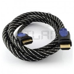 HDMI cable EB-112 class 1.4 Esperanza - length 1,8 m with a
