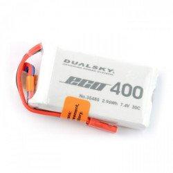 LiPol Dualsky 400mAh 35C 2S 7.4V