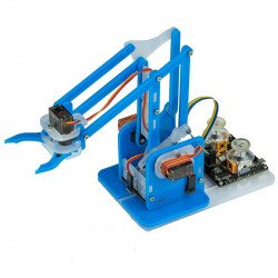 MeArm robot arm for Arduino - blue