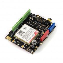 SIM7600CE-T 4G (LTE) - shield do Arduino
