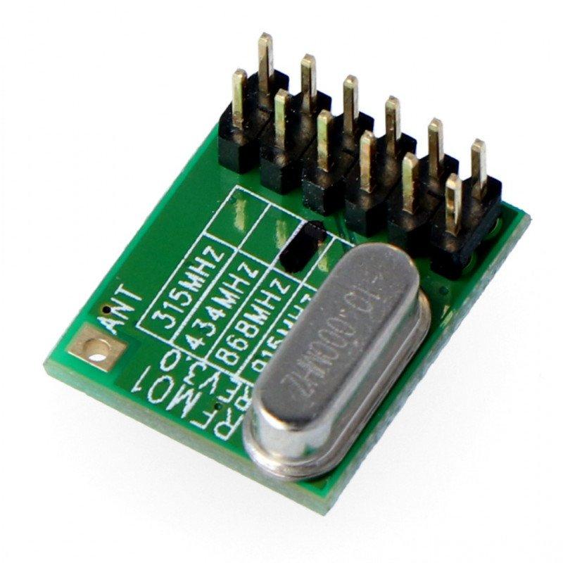 Moduł radiowy - RFM12B 868D  - Transceiver