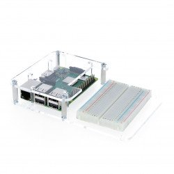 Case Raspberry Pi Model 3B + / 3B / 2B with space for