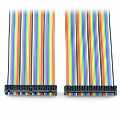 IDC cable 40 female to female 20 cm Raspberry Pi B+