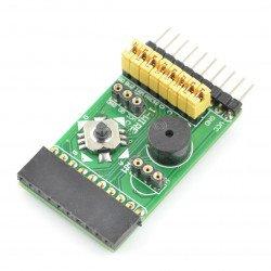 Mix Board 4in1 - extension module - IR, joystick, buzzer, temperature sensor