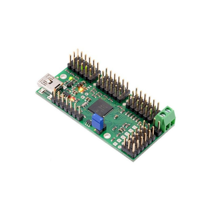 24-channel USB server driver