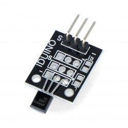 Module with LM35 temperature sensor