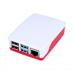 Official case for Raspberry Pi Model 4B - red-white