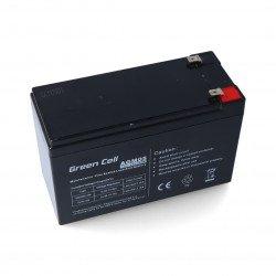 Gel battery 12V 7.2Ah Green Cell
