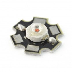 IR Power LED Star 1W - infrared 940nm with heat sink