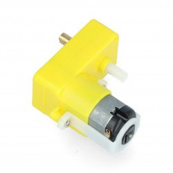 DC Dagu DG02S-2M 48:1 3V angular double-shaft motor - 2 pcs.