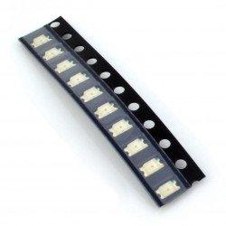 Dioda LED smd 1206  zielona 10 szt.