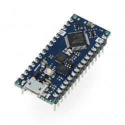 Arduino Nano Every with connectors
