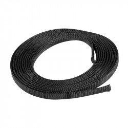 Lanberg braiding 12mm (8-24mm) black polyester 5m
