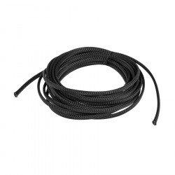Landberg cable braid 6mm (3-9mm) black polyester 5m
