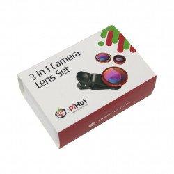 PiHut Lens Set 3 in 1 - PiHut camera lens set