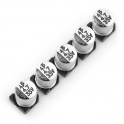 Electrolytic capacitor 4,7uF/35V SMD - 5 pcs.