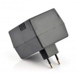 Plastic box Kradex Z21 - 55x64x82mm - black