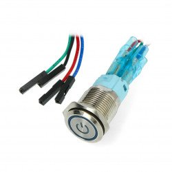 Power button for Odroid H2 - blue LED backlight