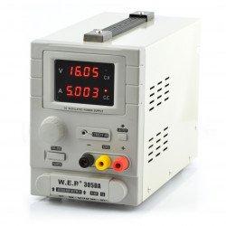 Laboratory power supply WEP 305DA 30V 5A