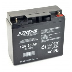 Gel rechargeable battery 12V 20Ah Xtreme