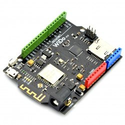 Showing wi-fi module WG1300 - compatible with Arduino