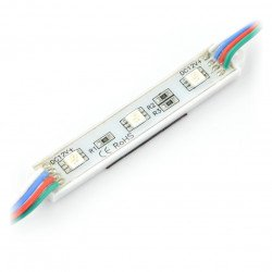 Moduł 3 LED 12V RGB IP65