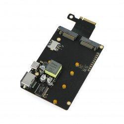 Khadas M2X - SSD, 4G LTE, Nano SIM extension card for VIM3 and Edge-V