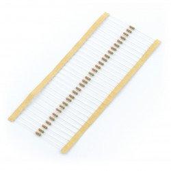 THT 1/4 W 2,2kΩ resistor - 30 pcs.