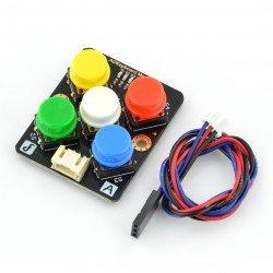 ADKeyboard v2 - keyboard module with coloured keys