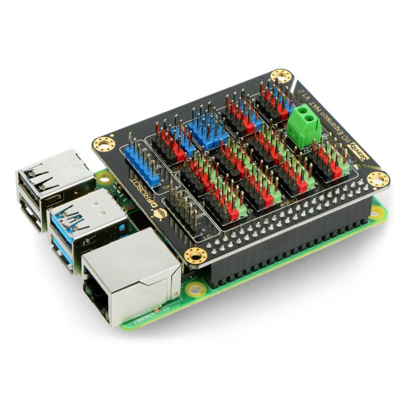DFROBOT GPIO Triple Expansion Hat for Raspberry Pi