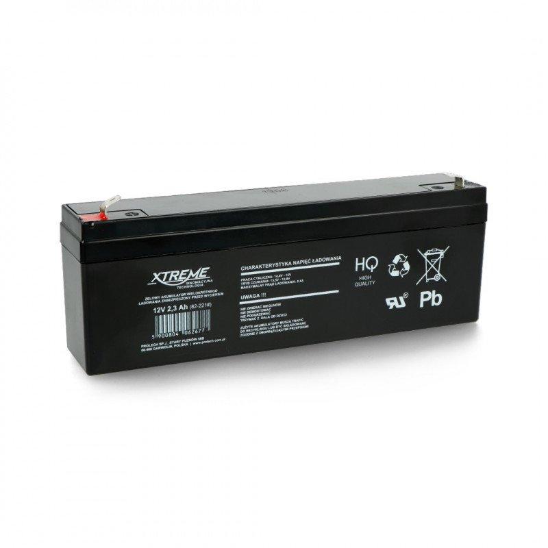 Gel rechargeable battery 12V 2.3 Ah ST