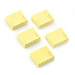 2,54 mm - socket 6-pin - 5 pcs