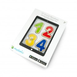 Marbotic Smart Numbers - an educational game with wooden numbers for the tablet