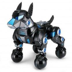 Interactive DOGO Rastar 1:14 (sings, dances, performs commands, LED) - Black