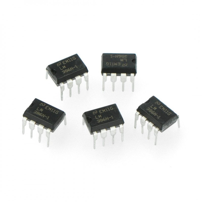 Audio amplifier LM386N-1
