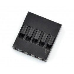 Connector type BLS - socket 5x1 + pins - 5pcs.