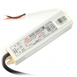 Power supply for LED strip waterproof - 12V / 1.25A / 15W_