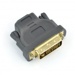 HDMI (socket) adapter - DVI-I (24+5pin socket)