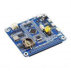 Emergency power supply - Raspberry Pi cap - Arduino MCU + RTC - Waveshare 17210